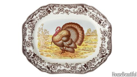 spoke woodland turkey platter