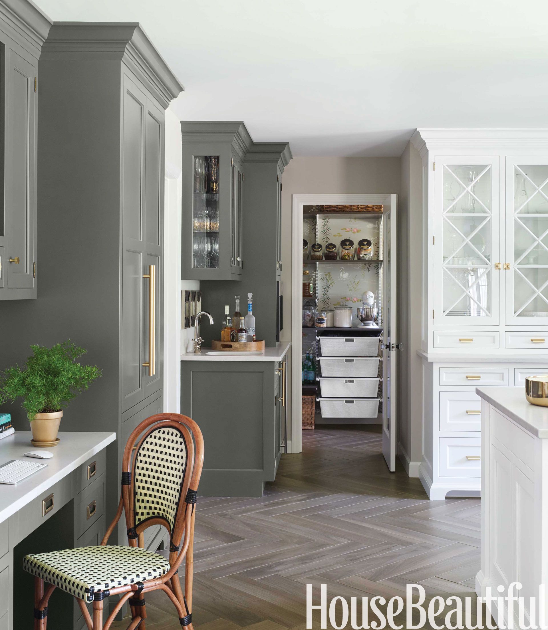 A Fresh Paint Color We Love For The Kitchen (So, NO, It's Not