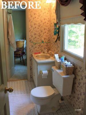 A Fresh Bathroom Makeover for Less Than $100