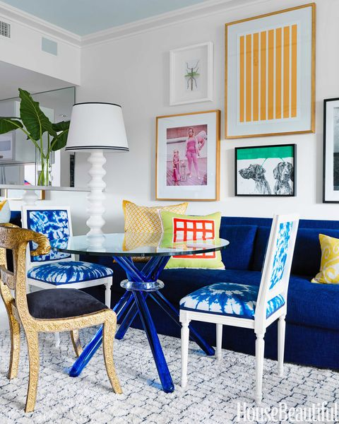Blue, Room, Textile, Furniture, Interior design, Wall, Pillow, Cushion, Interior design, Throw pillow,