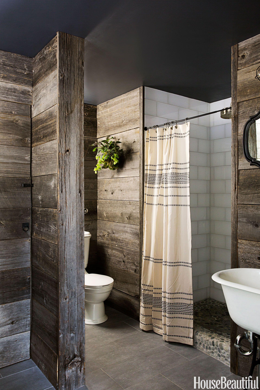 rustic country bathroom