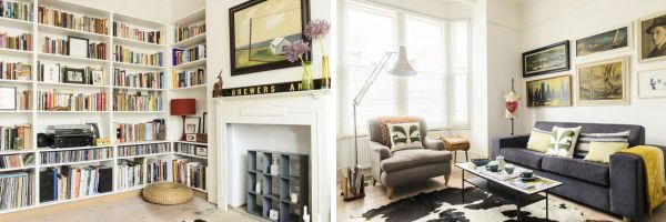 Before & After: A London Living Room and Fireplace Makeover