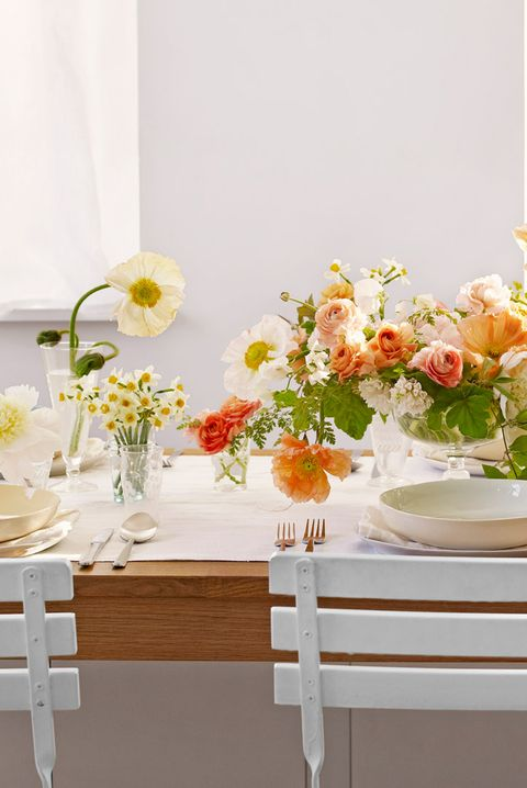 25 Beautiful Spring Table Setting Ideas Stylish Spring Centerpieces