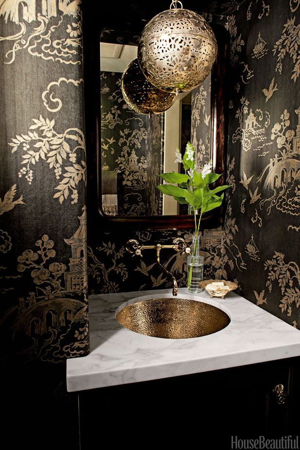 6 Powder Rooms That Pack a Punch