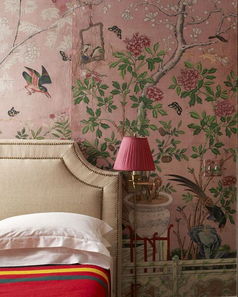 pink, wallpaper, room, wall, interior design, textile, furniture, magenta, plant, interior design,