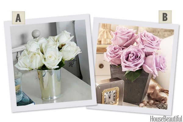 Would You Rather: White or Lavender Roses?
