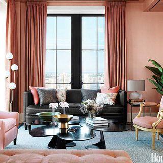 Room, Interior design, Furniture, Floor, Living room, Table, Home, Window covering, Interior design, Wall,