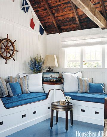 Nautical Interior Design Amusing Nautical Home Decor  Ideas For Decorating Nautical Rooms  House . Design Ideas