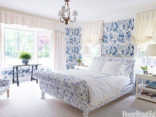 . Spring Print Rooms   Decorating With Pattern
