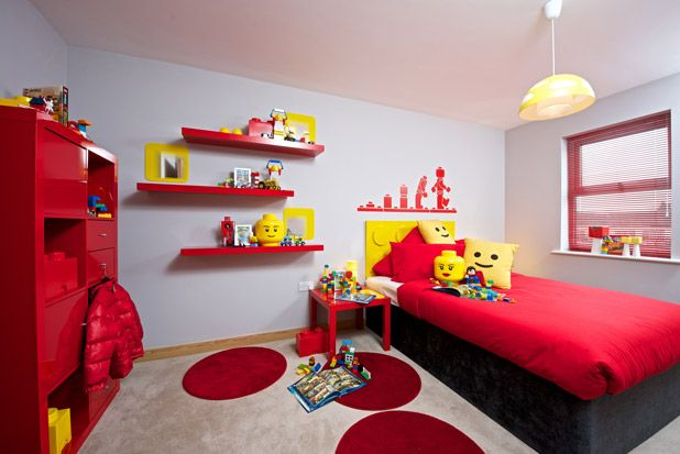 The Ultimate Kid's Room Made With a Favorite Toy