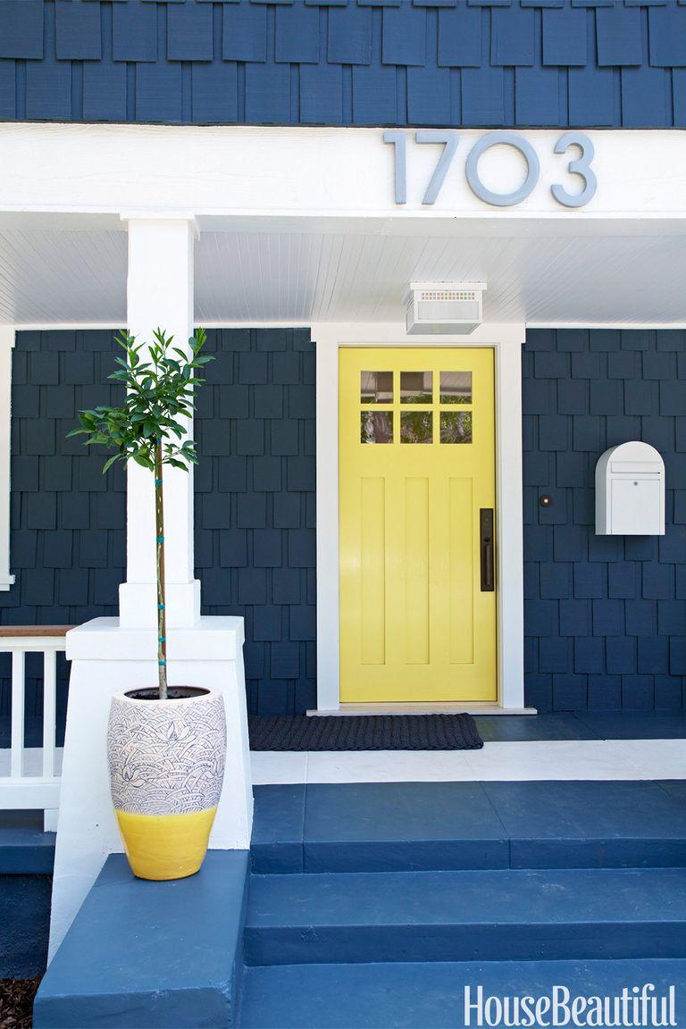 25 best front door paint colors paint ideas for front doors - Best color to paint front door ...