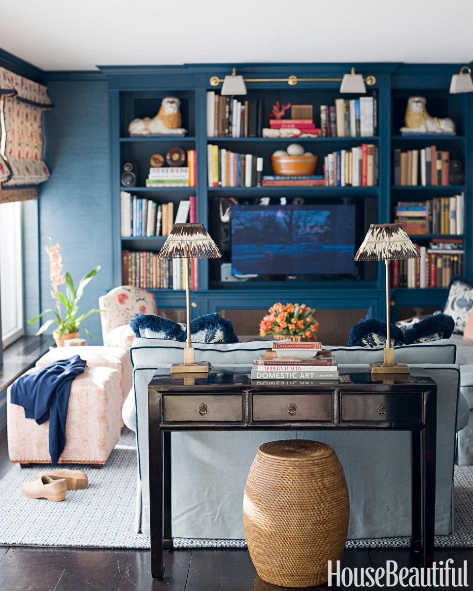 Top Pin of the Day: A Prussian Blue Library