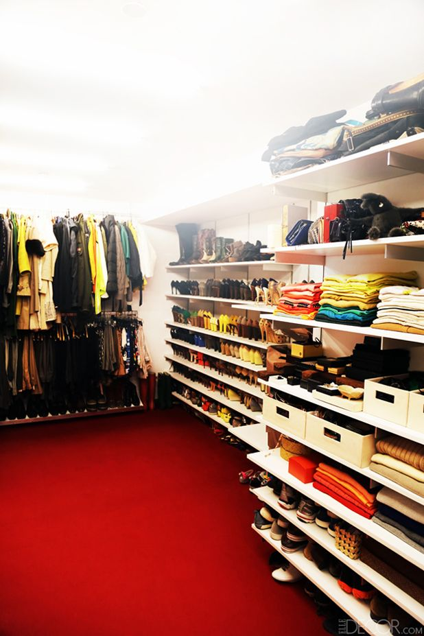 A Closet So Glamorous It Has Red Carpet