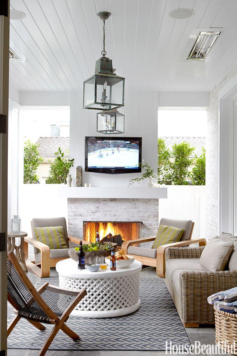 Indoor Outdoor Rooms Outdoor Room Decorating Ideas