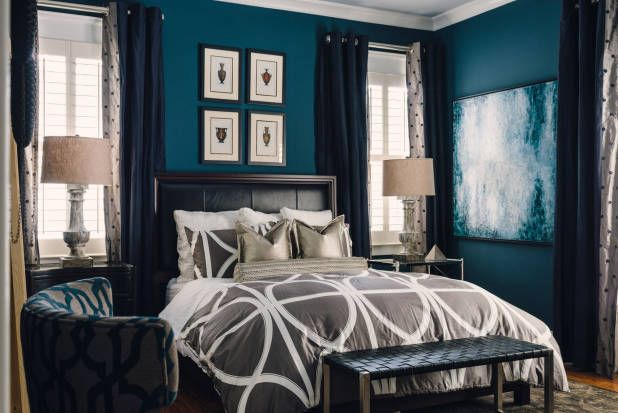 A Plain Bedroom Becomes the Ultimate Masculine Retreat