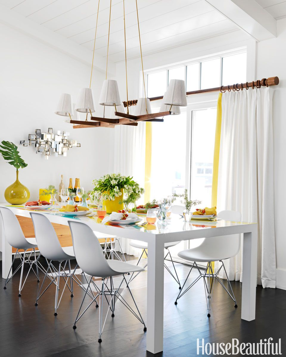 White Beach House Dining Room Part 97