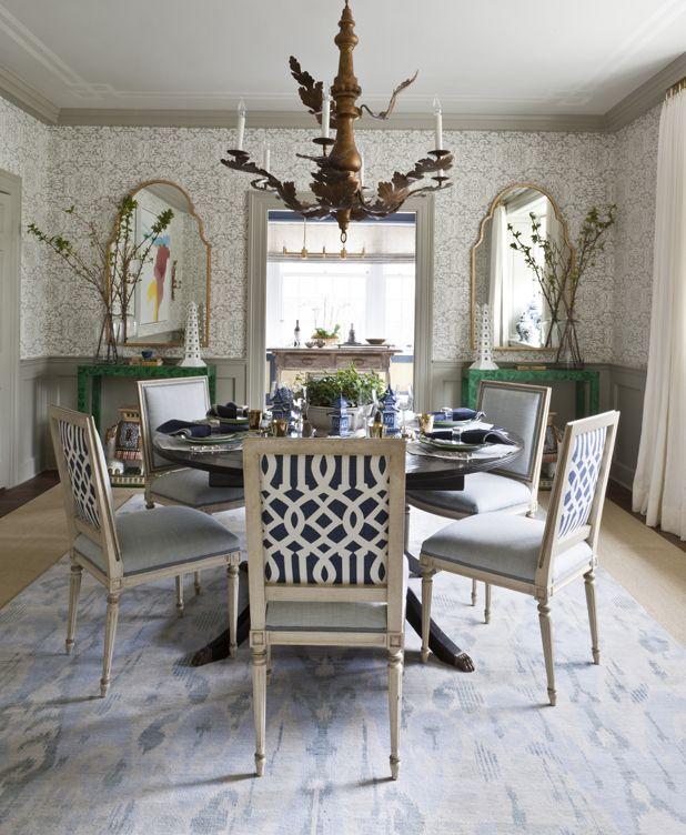 . Dining Room Before After   Marika Meyer DC Design