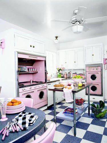Room, Floor, Interior design, Green, Flooring, Home, White, Ceiling, Home appliance, Pink,