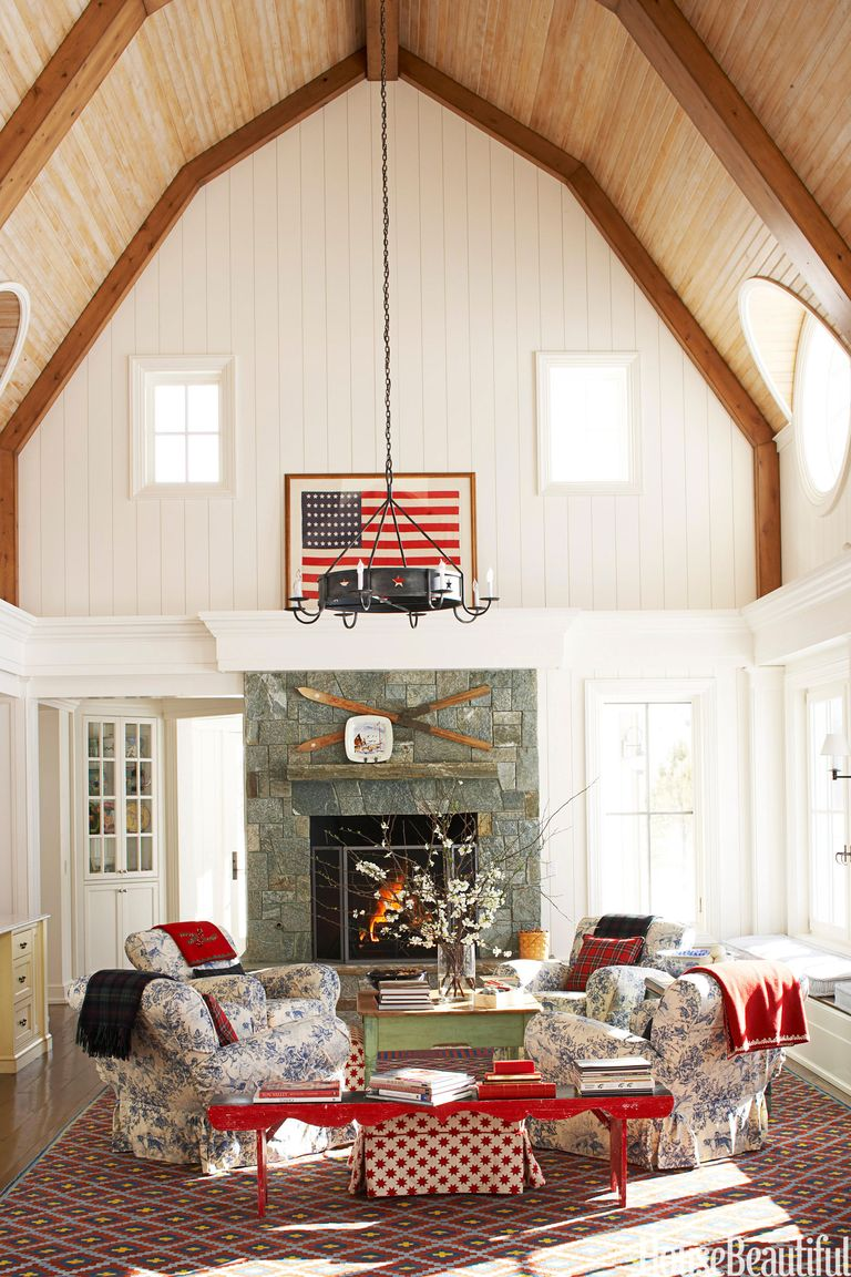 Patriotic Decor For 4th Of July Red White And Blue