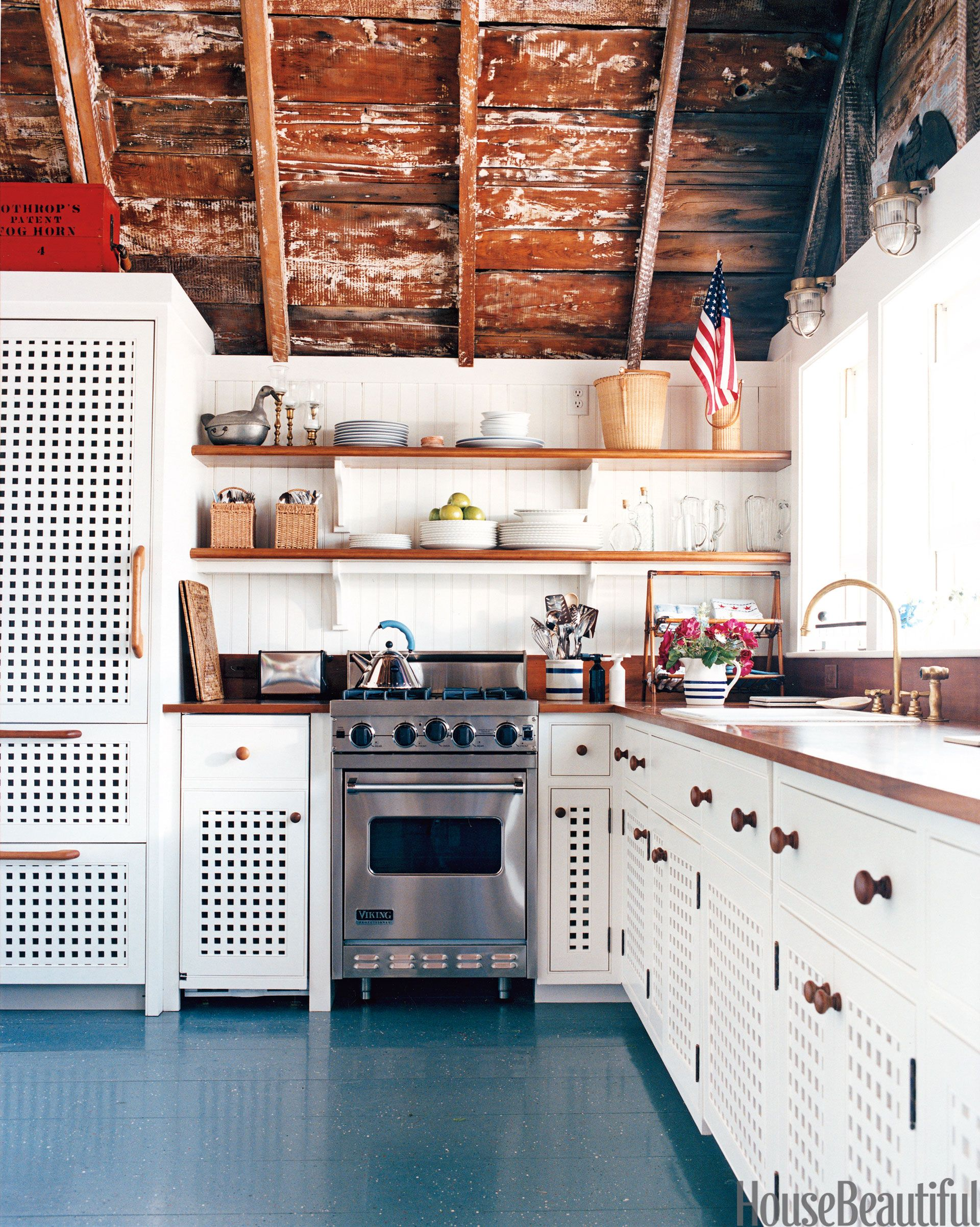 Patriotic kitchen - Patriotic Decor For 4th Of July Red White And Blue Decorating Ideas