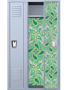 paisley locker decal
