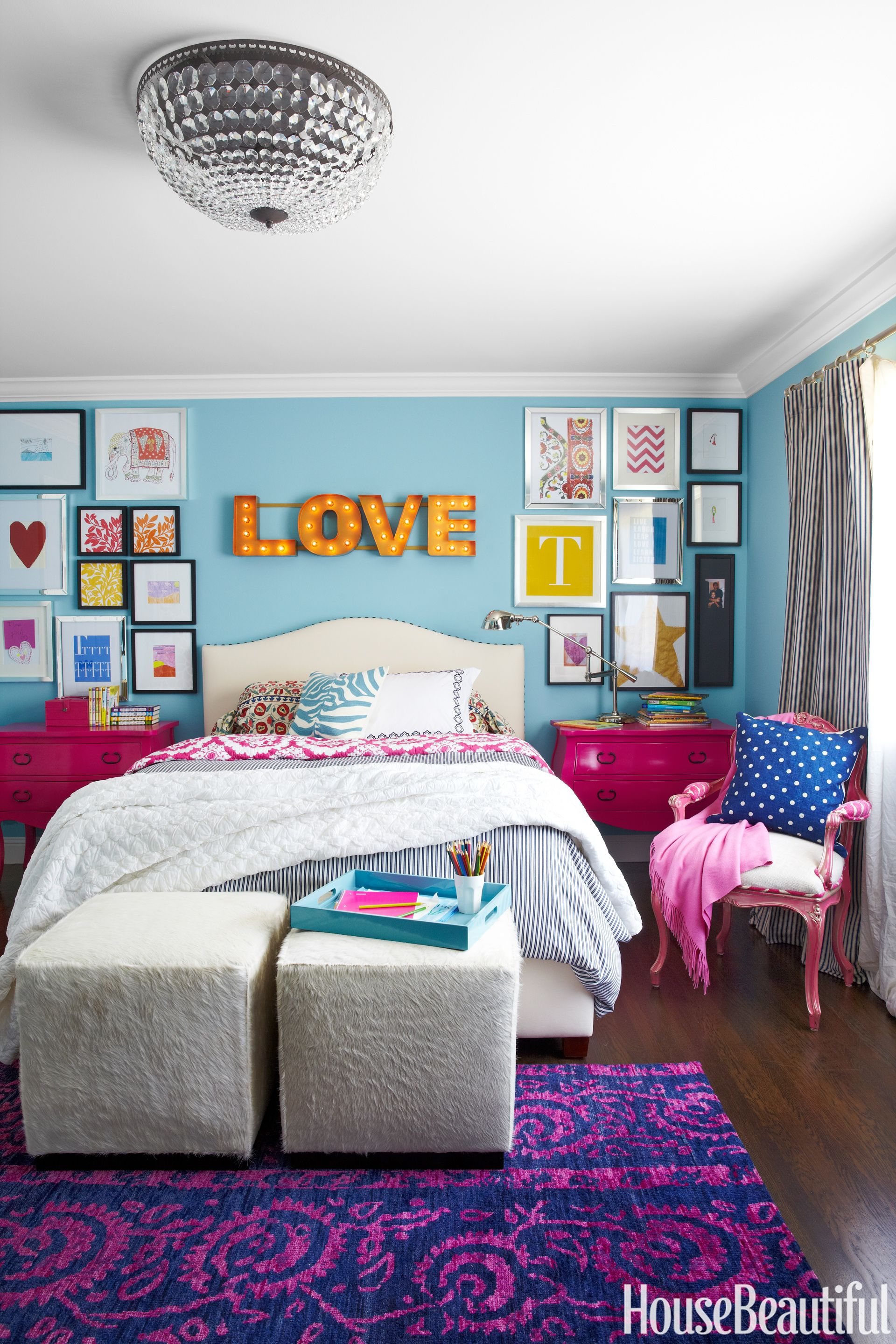 gallery wall kids room : best-room-colors - designwebi.com