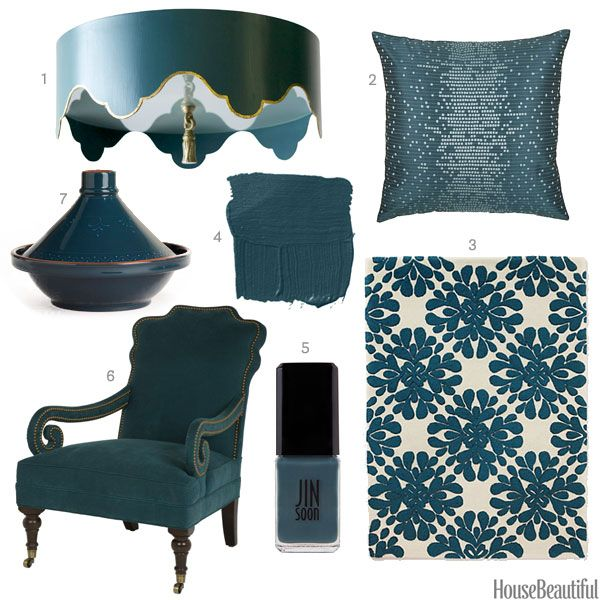 Pea Blue Home Accessories Interior Design Decorating Ideas