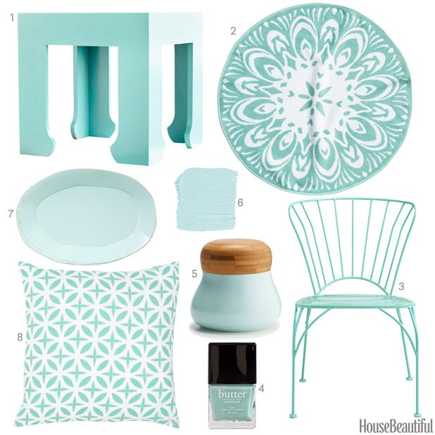 light turquoise accessories light turquoise home decor - Turquoise Home Decor Accessories