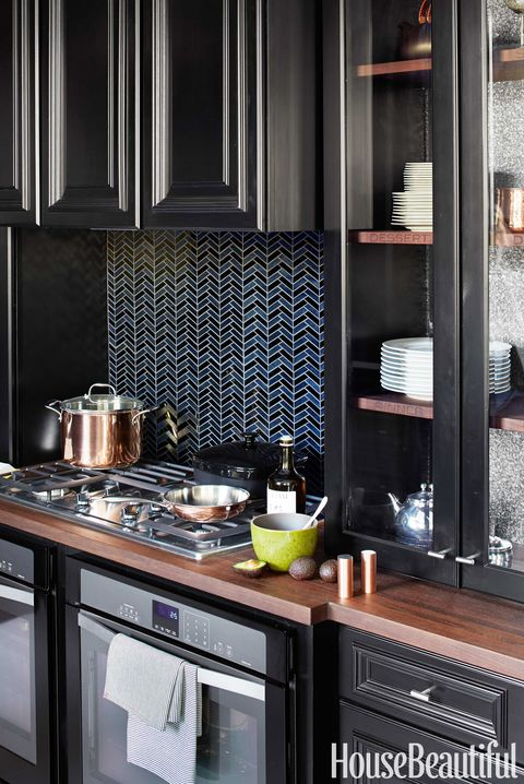 10 Kitchen Cabinet Tips: 10 Black Kitchen Cabinet Ideas