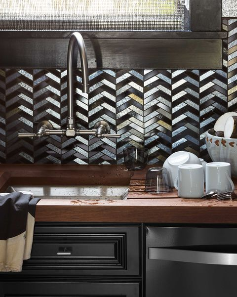 Green Kitchen Kirkman: Tile Designs For Kitchen Backsplashes