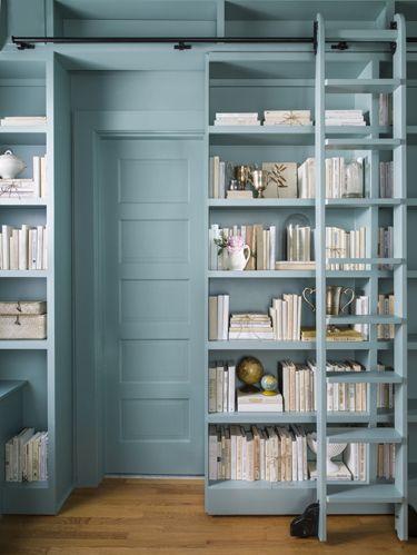 Wood, Shelf, Shelving, Room, Wall, Floor, Wood flooring, Teal, Flooring, Hardwood,
