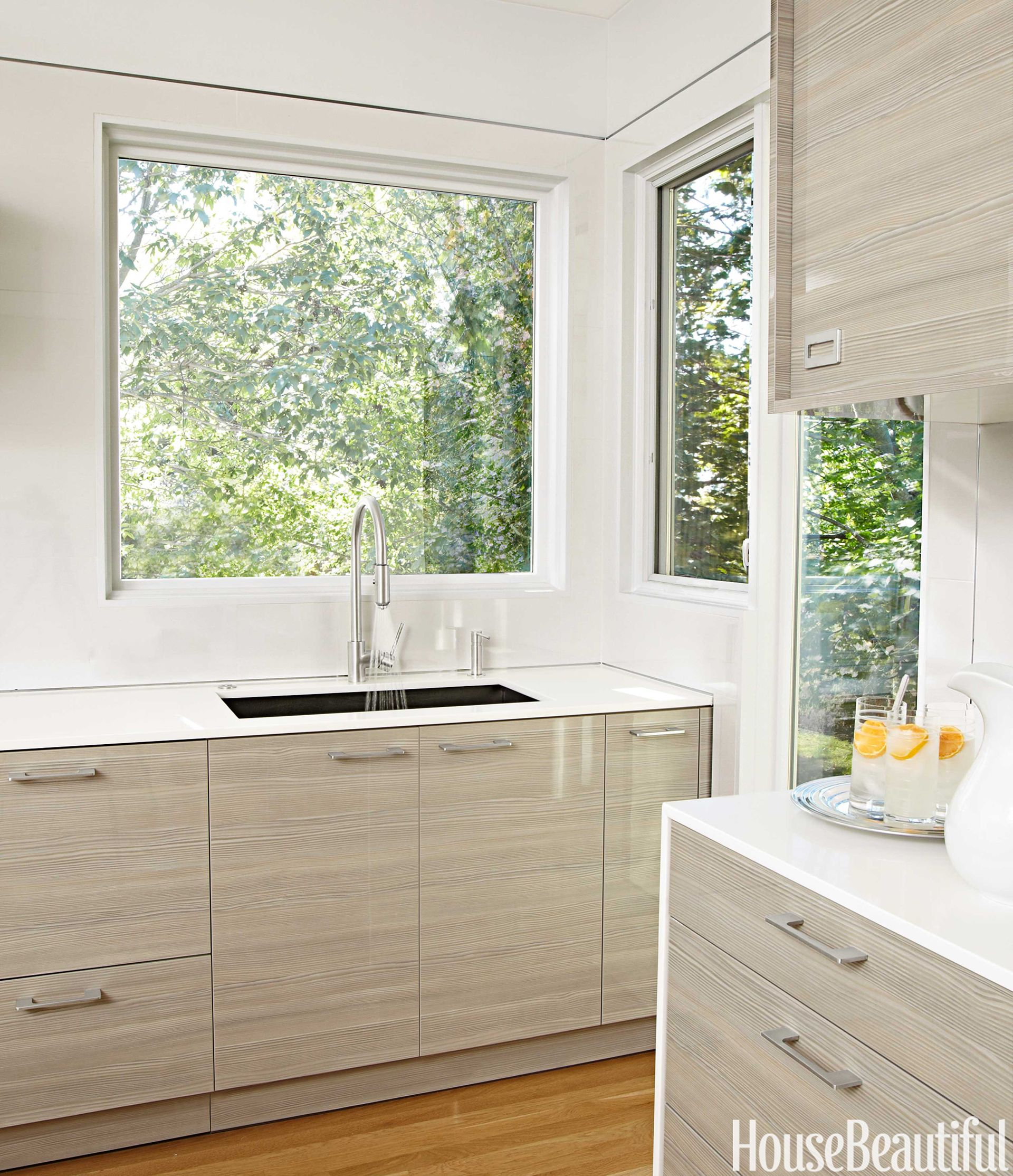 Striated Cabinets