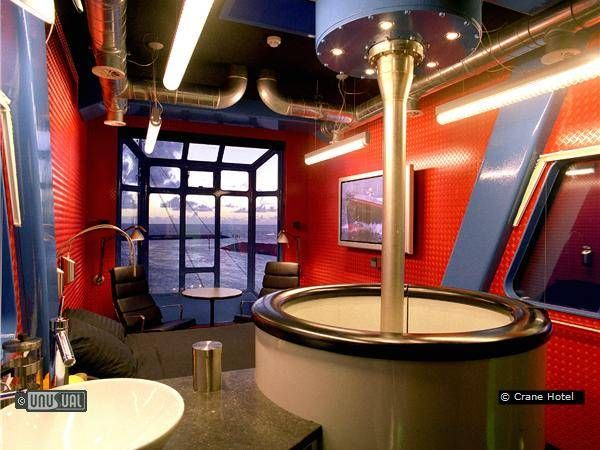Now You Can Vacation Inside a Crane