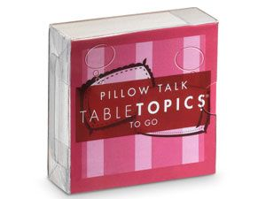 pillow talk topics to go box gift