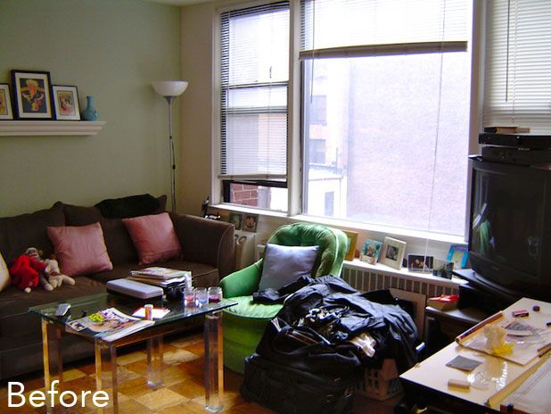 Before & After: A Cramped Studio Gets A Spacious New Look