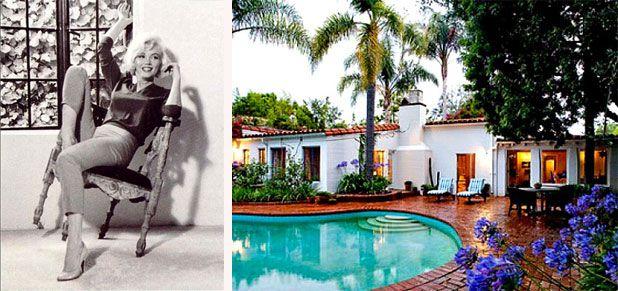 Marilyn Monroe House Address Fair Inside Marilyn Monroe's Brentwood Home  Marilyn Monroe's Last Home Decorating Inspiration