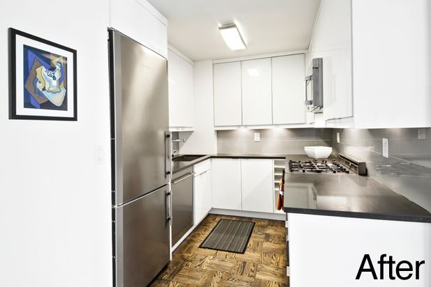Before & After: A Dingy Kitchen Gets A Modern Makeover