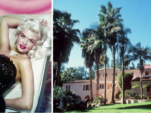 Jayne Mansfield's Pink Palace Set the Bar for Over-the-Top Celebrity Homes
