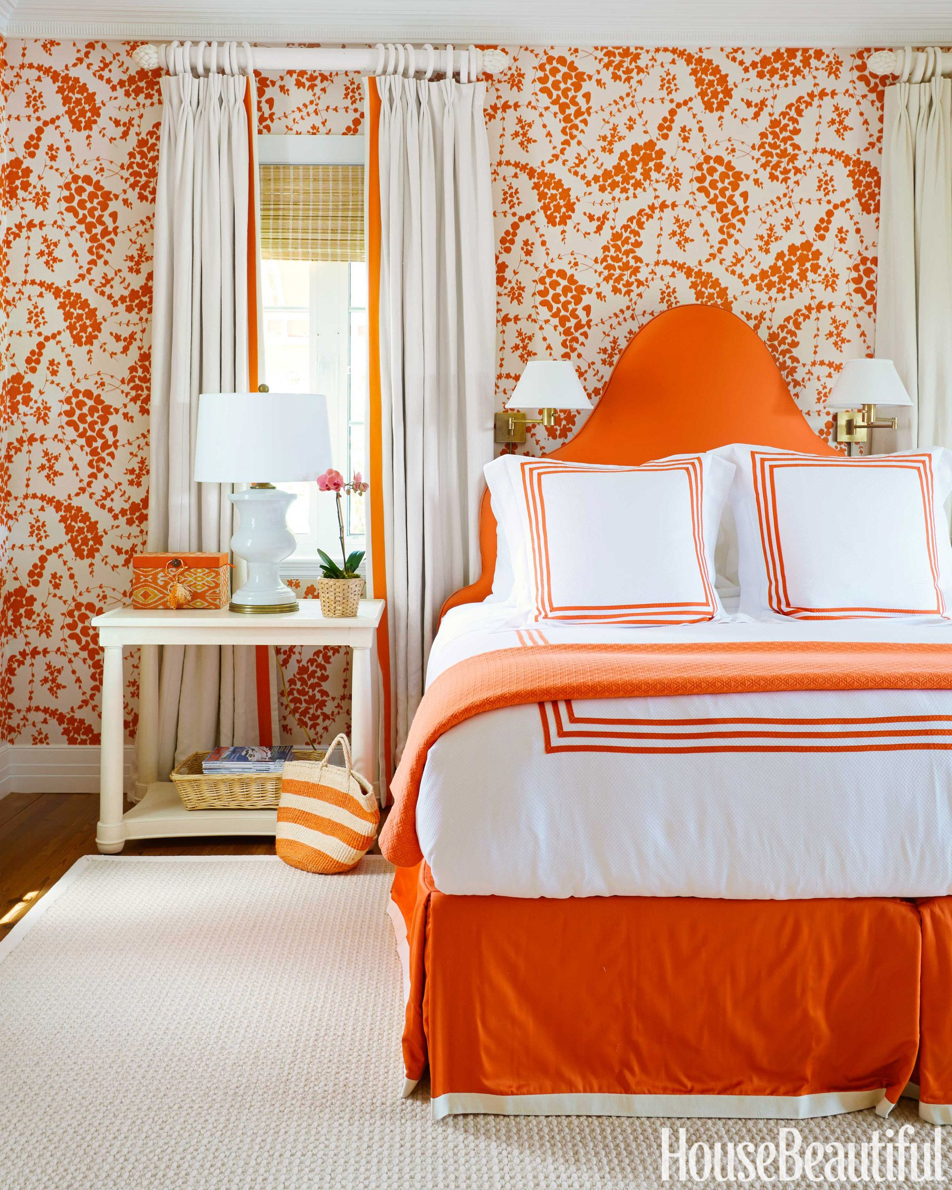 62 best bedroom colors modern paint color ideas for bedrooms house beautiful - Orange Bedroom 2016