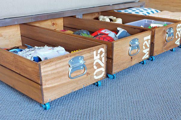 diy bedroom storage.  15 DIY Storage Ideas Easy Home Solutions
