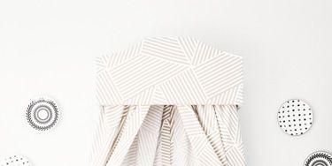 DIY a Charming Crib Pelmet
