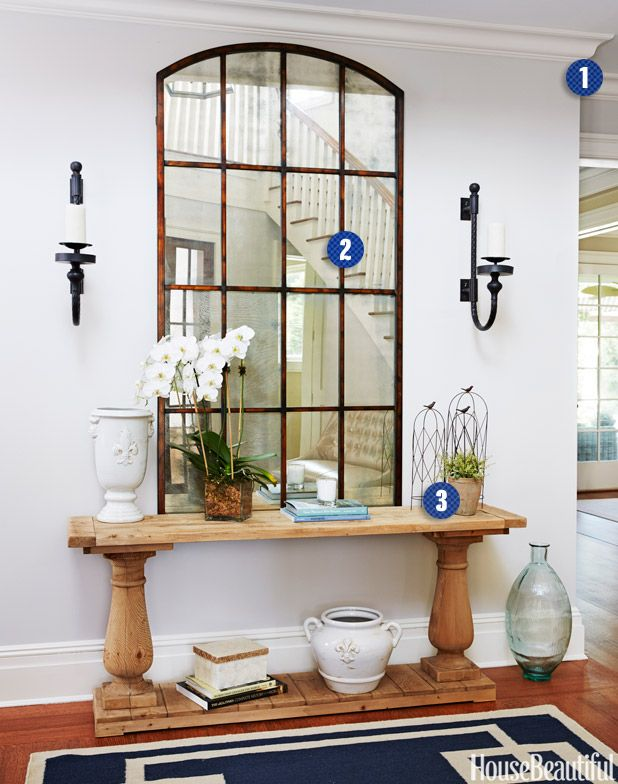 Libby Langdon Entry Makeover - Foyer Decorating Ideas