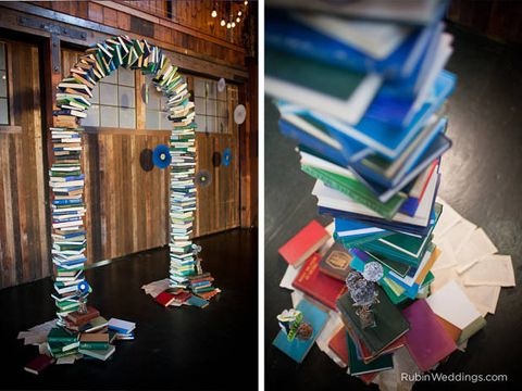 Creative Ways To Decorate With Books How To Decorate With Books