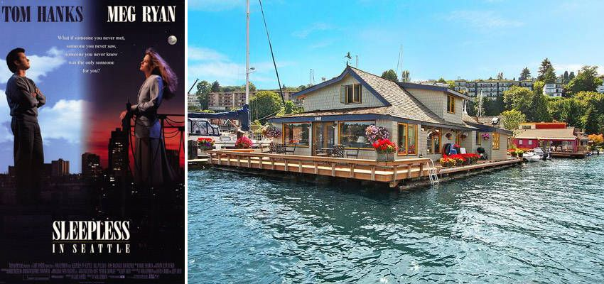 Sleepless In Seattle Houseboat Famous Movie Houseboat