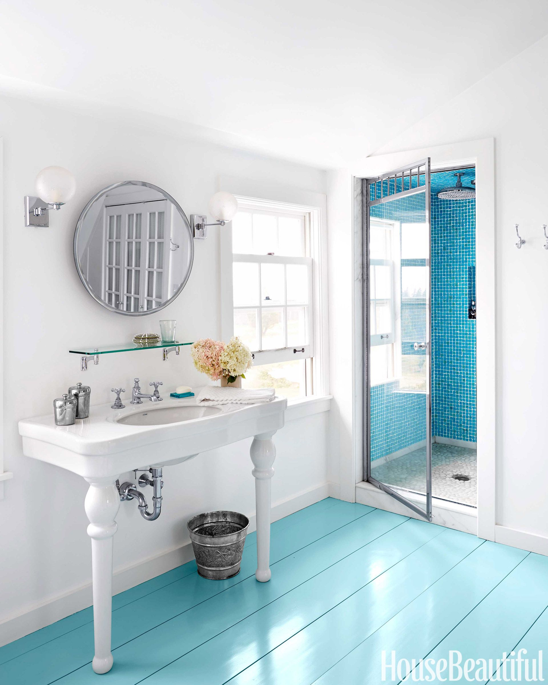 12 Best Blue Bathroom Ideas - How to Decorate Blue Bathrooms