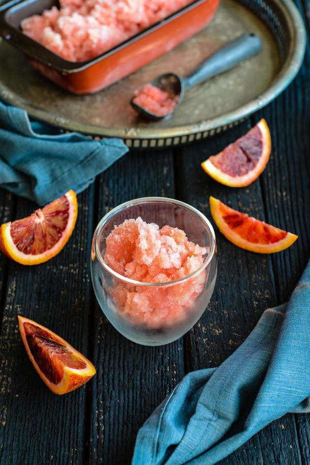 Why Not Combine Cocktails and Dessert With These Spiked Sorbets?