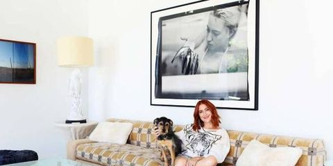 This Fashion Designer Decorated Her Entire Home in Just 6 Weeks