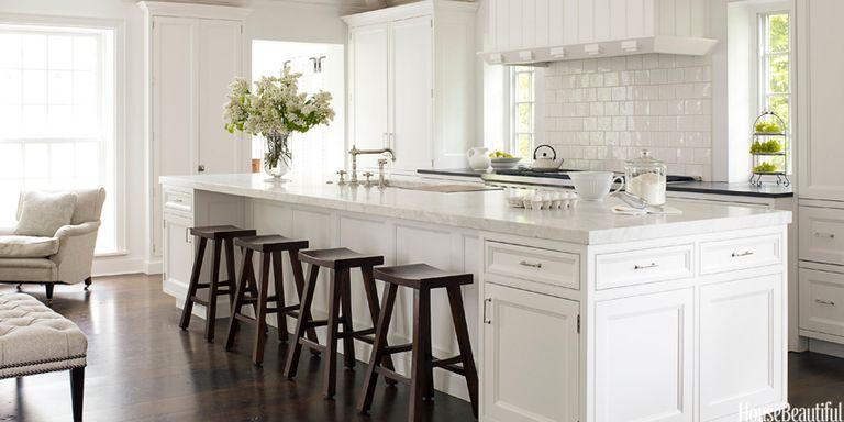 White Kitchen Decorating Ideas - Mick de Giulio Kitchen Design