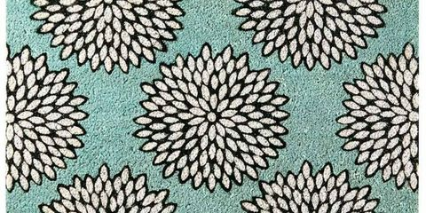 dahlia print rug