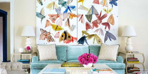A Traditional Tudor House Gets a Youthful, Vivid Update